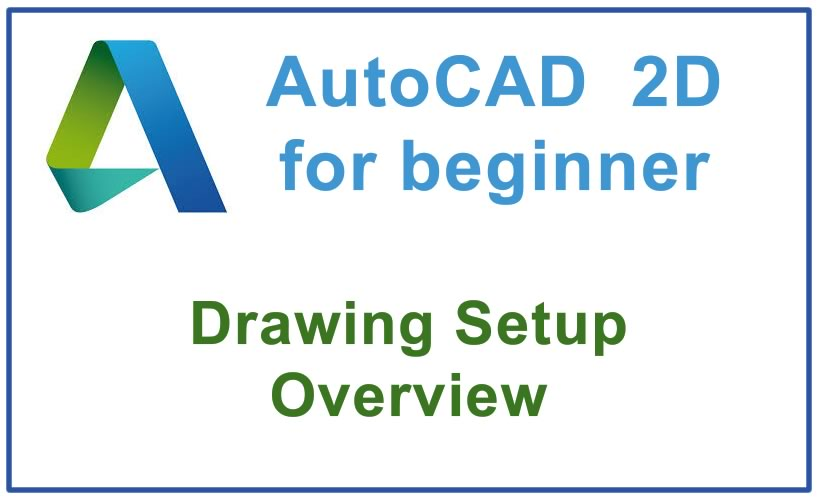 Photo of Drawing Setup Overview