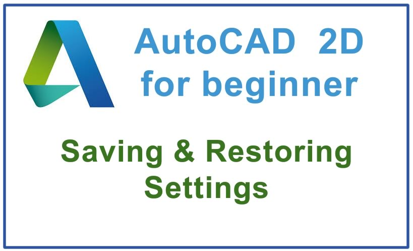 Photo of How to save & Restore settings