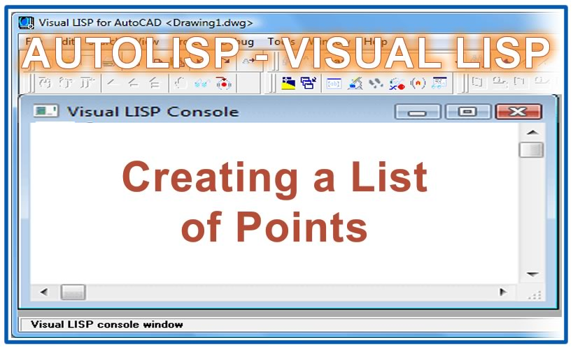 Photo of Creating a List of Points with autolisp in AutoCAD
